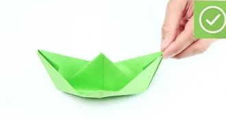 Kağıttan Gemi Nasıl Yapılır?