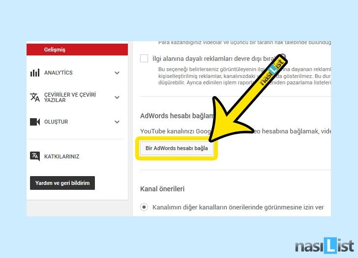 youtube kanal açma nasıl yapılır
