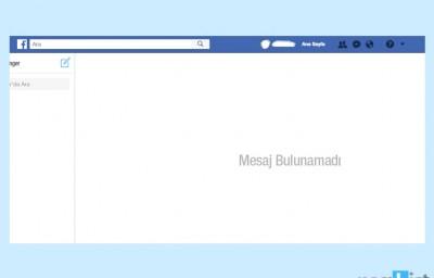 Facebook Toplu Mesaj Silme Nasıl Yapılır?