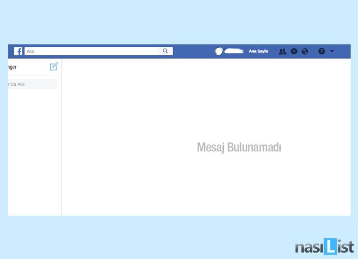 facebook toplu mesaj silme nasıl yapılır