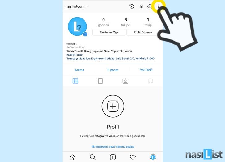 instagram engel kaldırma nasıl yapılır