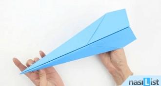 Kağıttan Uçak Nasıl Yapılır?