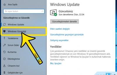 Windows Defender Kapatma Nasıl Yapılır? (Windows 10)